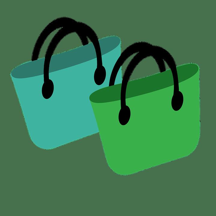 zöld táska