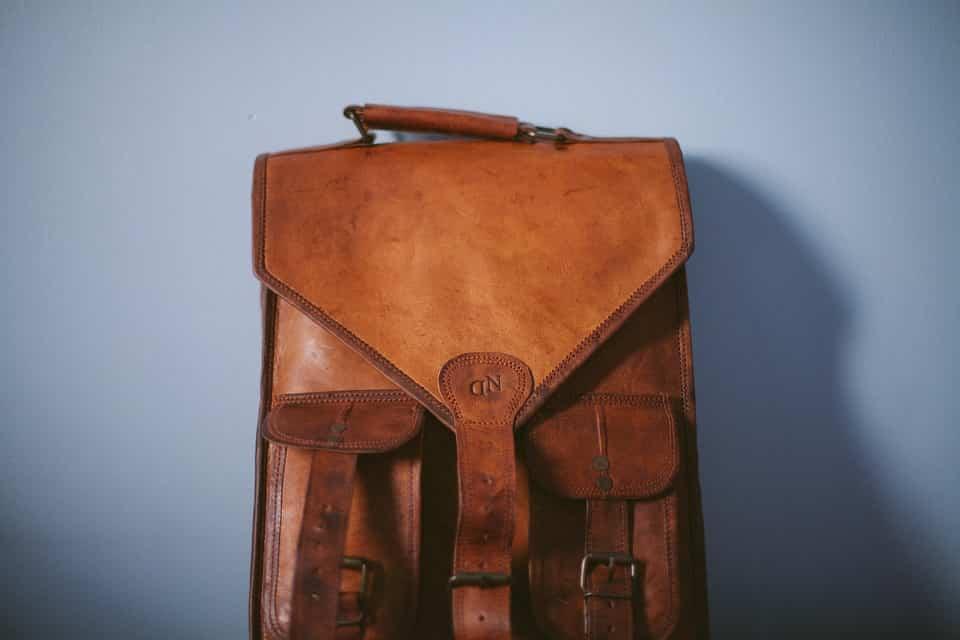 férfi bőr táska